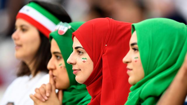 Iranian women attend first football match in 40 years - to see team win 14-0!
