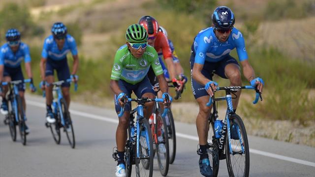 Quintana neuer Gesamtzweiter, Gilbert siegt vor Bennett