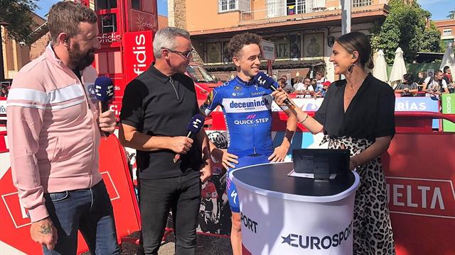 'It doesn't really get any better!' Delighted James Knox discusses his brilliant ride in Stage 17