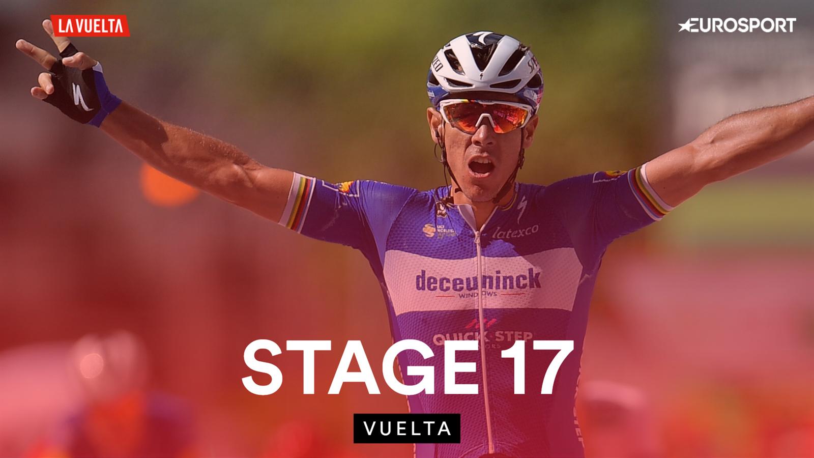 La Vuelta a Espana 2019 - Philippe Gilbert wins Stage 17 as