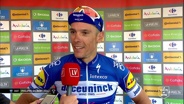 Philippe Gilbert - 'It was crazy from the gun'
