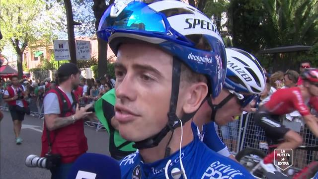James Knox explains how the breakaway got away on dramatic Stage 17