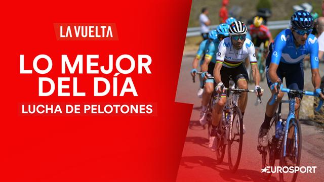 Vuelta a España2019, lo mejor del día (17ª etapa): Una lucha intensa entre favoritos y el viento