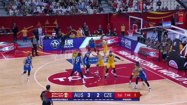 Australia overpower Czech Republic to make semi-final