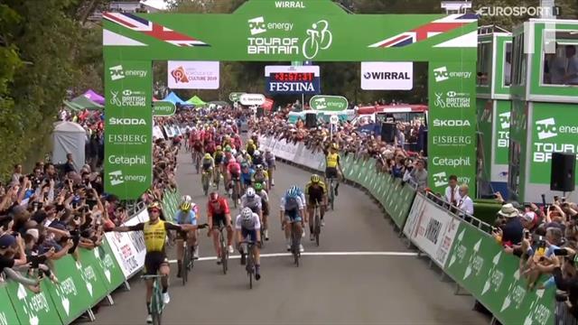 Tour of Britain   Weer winst Groenewegen