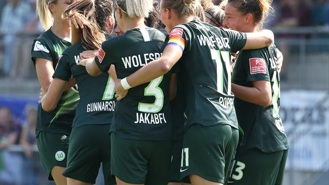 Wolfsburg macht es zweistellig, FC Bayern mit knappem Auswärtssieg
