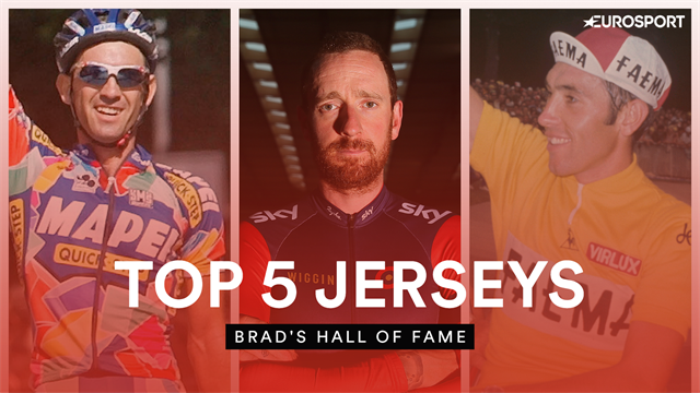 Brad's Hall of Fame - Wiggins names his favourite jerseys from cycling history