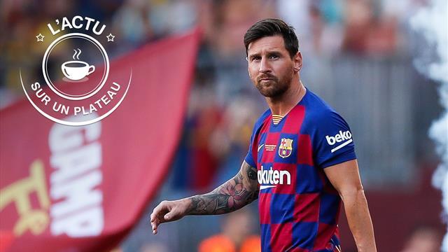 Messi, PSG, Alaphilippe : l'actu sur un plateau