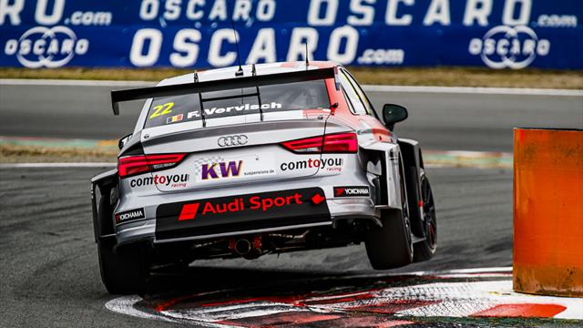 La estrella de la resistencia Vervisch lidera la carga de Audi en el WTCR