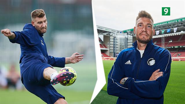 Kom med til Nicklas Bendtners første træningsdag i FCK