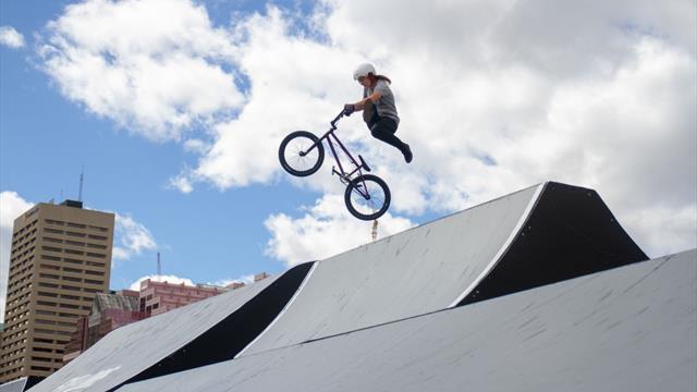 Action pur bei den World Urban Games in Budapest