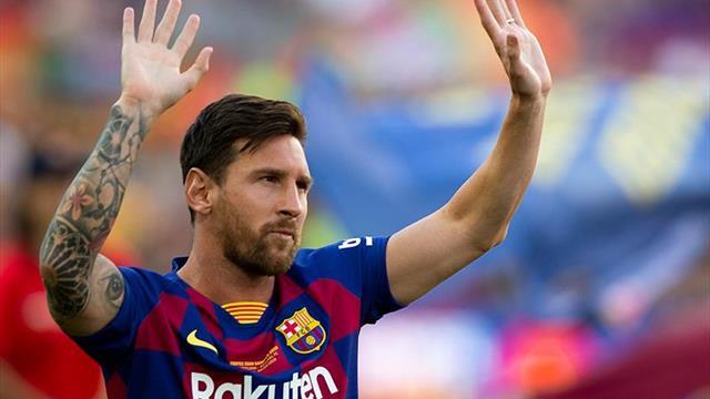 """Messi: """"No quiero irme, pero lo importante es tener un proyecto ganador"""""""