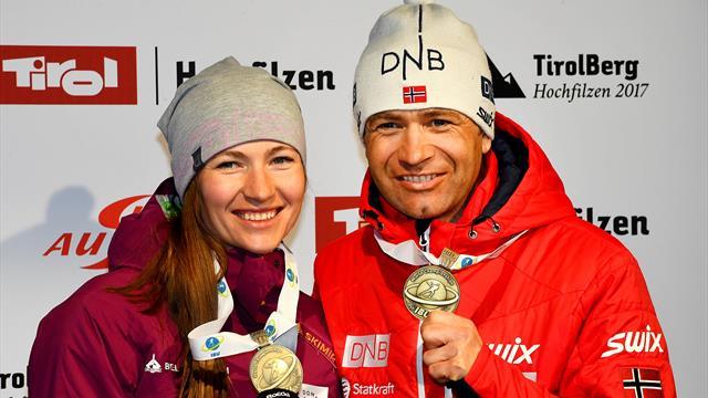 Björndalen und Domratschewa machen Chinas Biathleten fit für Olympia