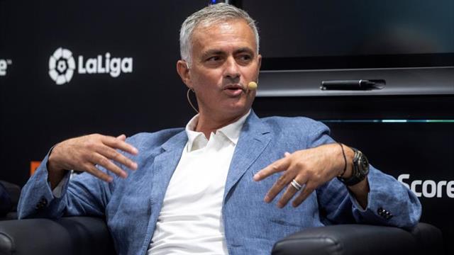 """Mourinho: """"Tengo el orgullo de haber ganado LaLiga en un momento muy difícil"""""""