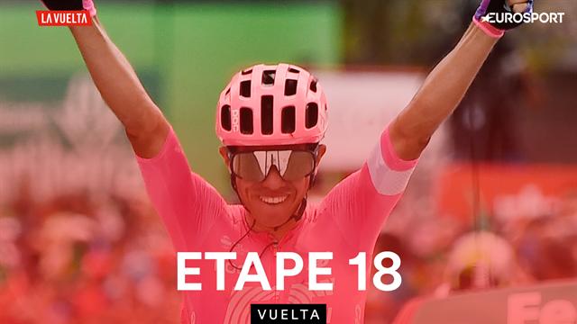 Higuita a résisté, Lopez a tenté, Bouchard a engrangé : les temps forts de la 18e étape