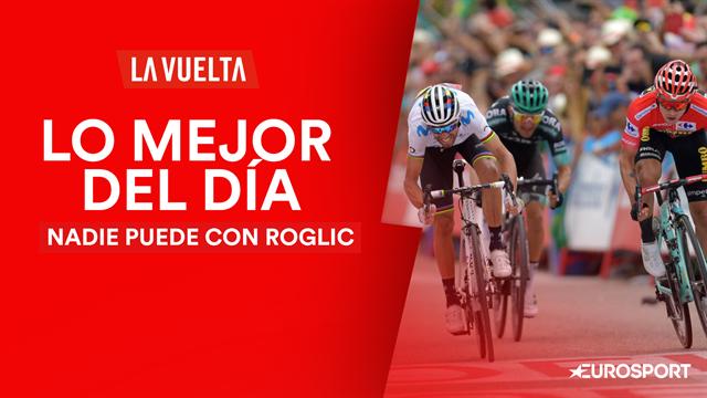 Vuelta a España 2019, lo mejor del día (18ª etapa): Nada ni nadie puede con Primoz Roglic