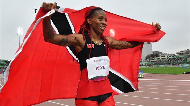La sprinteuse trinidadienne Ahye suspendue provisoirement pour dopage