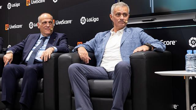 Tebas cree que la vuelta de Mourinho a España sería buena para el fútbol español