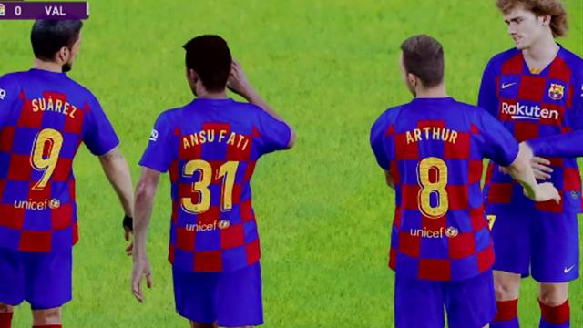 Liga Virtual: Así ha quedado el Barcelona-Valencia