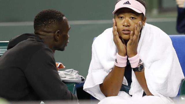Naomi Osaka prescinde de su entrenador, siete meses después de contratarlo