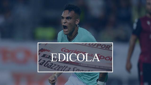 Edicola: Inter, il Barcellona vuole Lautaro. Ranieri dice sì alla Sampdoria
