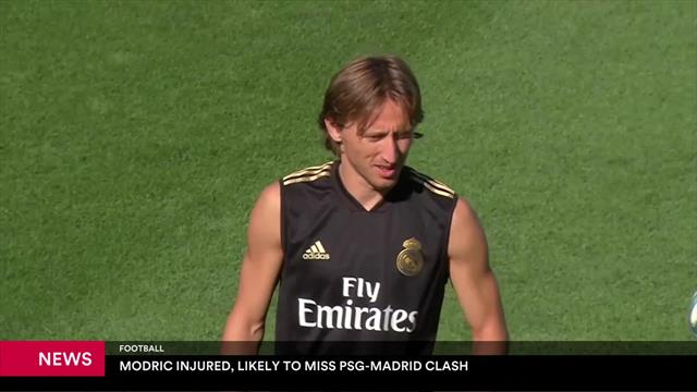 Luka Modric injured, likely to miss PSG-Madrid clash