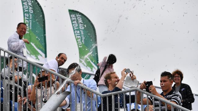 Tokio testet Kunstschnee gegen die Hitze