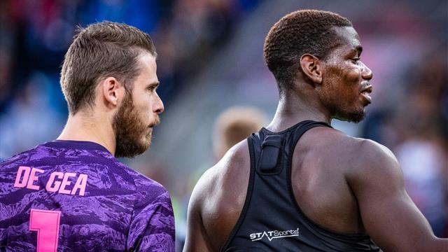Pogba out of Leicester clash, De Gea contract talks 'ongoing'