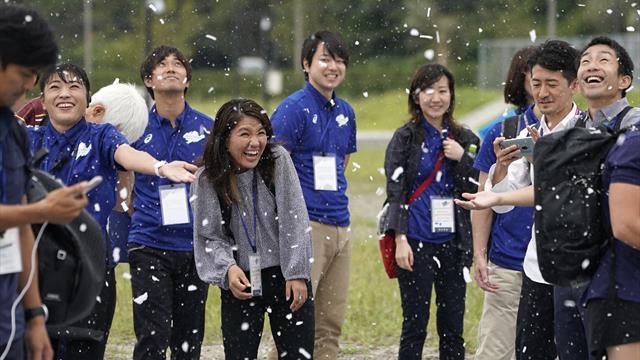 Tokyo organisers trial snow machines to beat summer heat