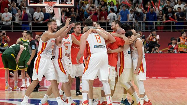 Gasol fires Spain into World Cup final after double-overtime thriller against Australia