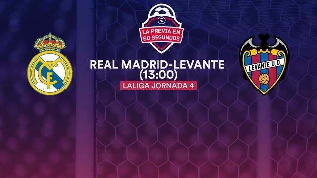 """La previa en 60"""" del Real Madrid-Levante: Hazard, en el momento oportuno (13:00)"""