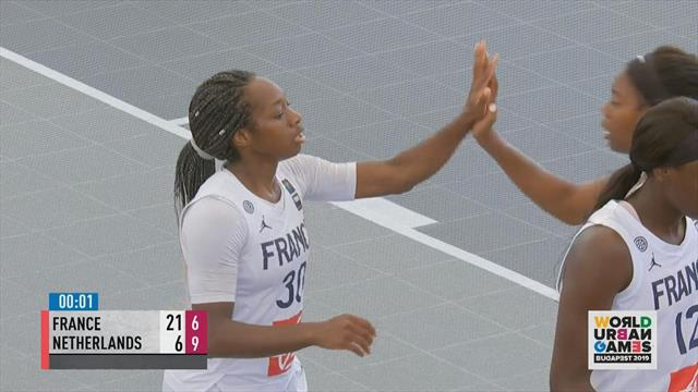 World Urban Games: France dominate Netherlands in basketball