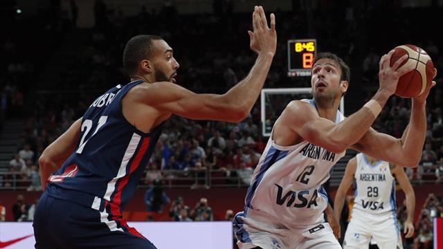 Mundial de baloncesto 2019, Argentina-Francia: Un incombustible Scola se cita con España (80-66)