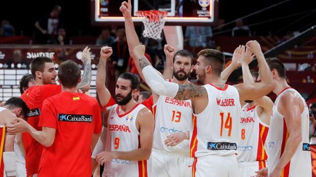 95-88. España vuelve a soñar con el oro de la mano de Gasol