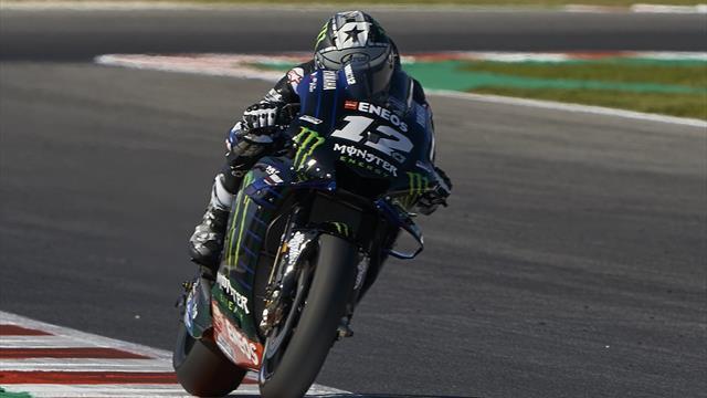 Viñales et Yamaha dominent, Marquez s'accroche