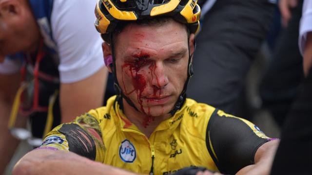 Sturz-Schock: Martin muss bei Vuelta aufgeben