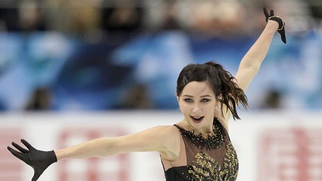 Туктамышева – первая после короткой программы на Lombardia Trophy, Щербакова – третья