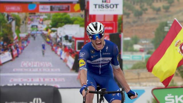 'Time to celebrate!' - Cavagna chalks up maiden Grand Tour win
