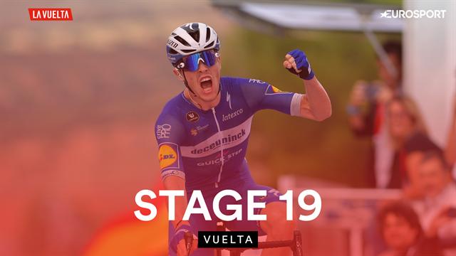 Vuelta | Valpartij, waaiers en een controversieel moment: samenvatting etappe 19