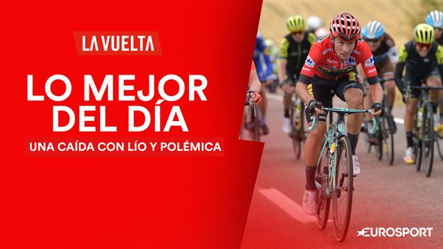 Vuelta a España2019, lo mejor del día (19ª etapa): El lío y la polémica tras la caída de Roglic