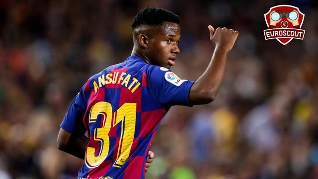Messi en est déjà fan : Ansu Fati, le gamin qui bat tous les records de précocité du Barça