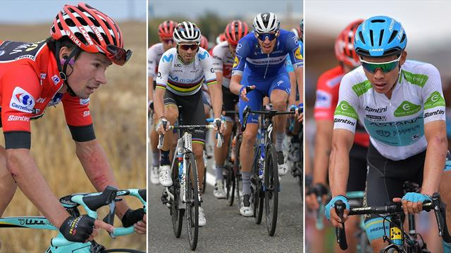 'They always behave like idiots' - Controversy as Movistar attack after Roglic crashes