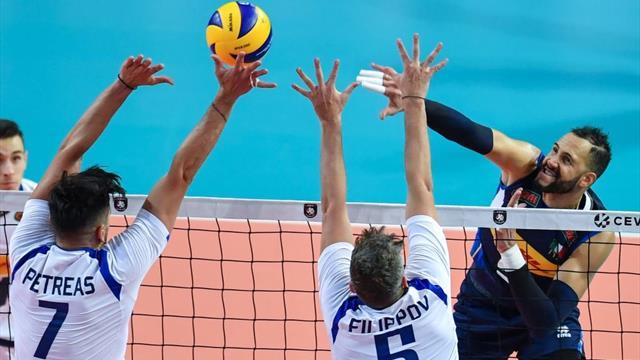 Italia-Grecia 3-1: buona anche la seconda per gli azzurri di Blengini