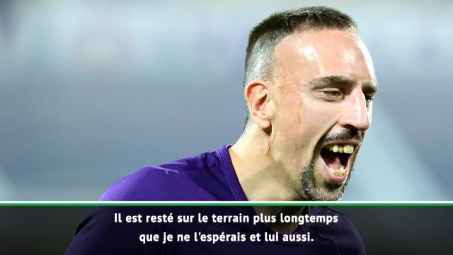"Montella : ""Ribéry est en bonne forme"""