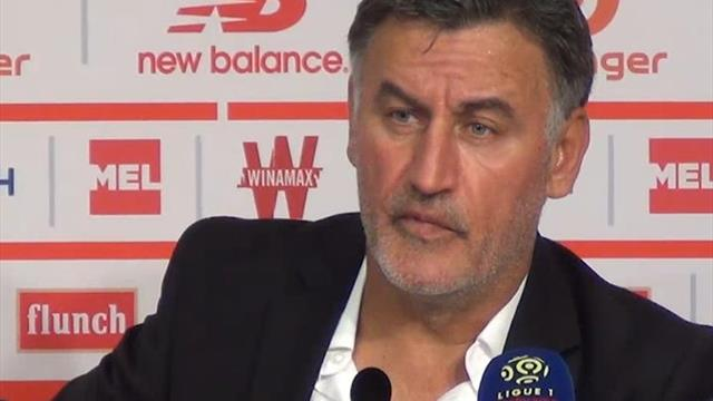 "Galtier : ""Si on fait la même fin à l'Ajax, on perd"""
