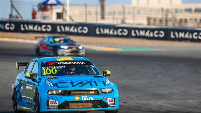 WTCR Qualifying 1 flash: Muller takes DHL pole for Race 1