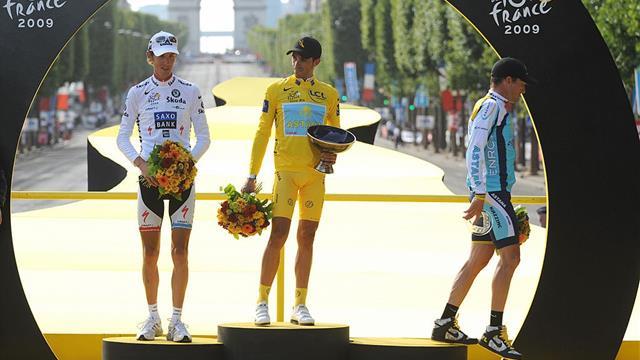 Contador y su trofeo del Tour 2007: su madre lo rompió sin querer y lo reconstruyó a la perfección