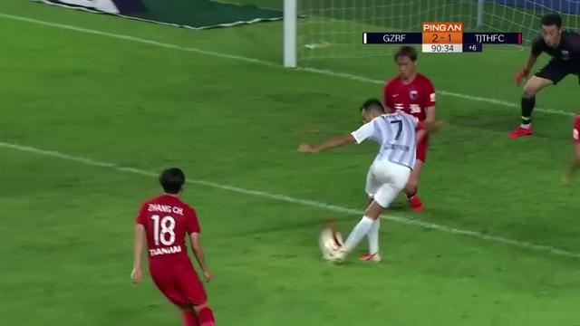 Израильтянин из «Гуанчжоу Фули» рабоной забил победный мяч на последней минуте