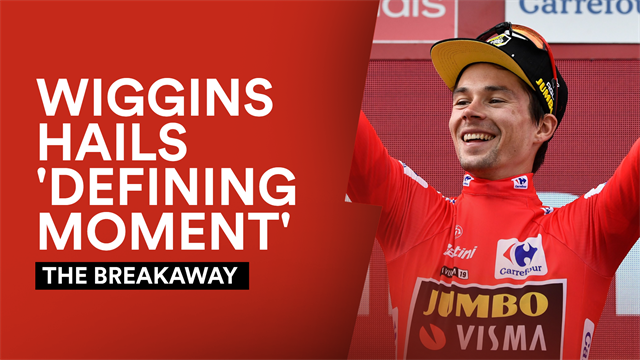 The Breakaway: Roglic's 'defining moment is brilliant for cycling'