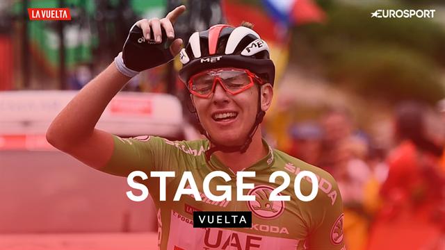 Stage 20 highlights: Brilliant move delivers podium for Pogacar, Roglic seals GC win